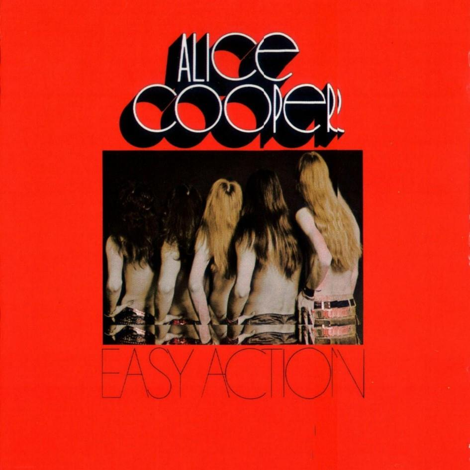 0603497864553 Rhino  Alice Cooper Easy Action (LP)